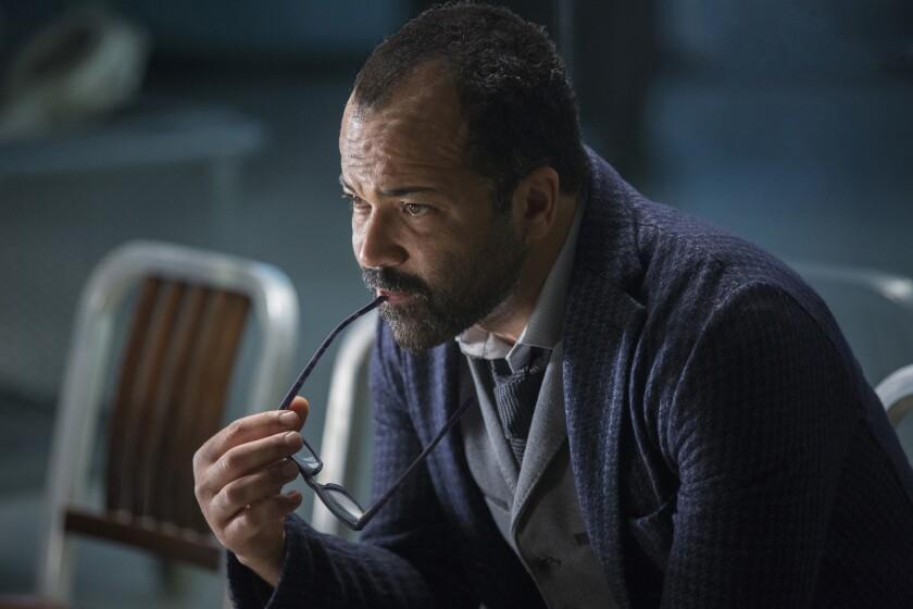 "Jeffrey Wright in a scene from Season 1 of ""Westworld."" Credit: John P. Johnson/HBO"