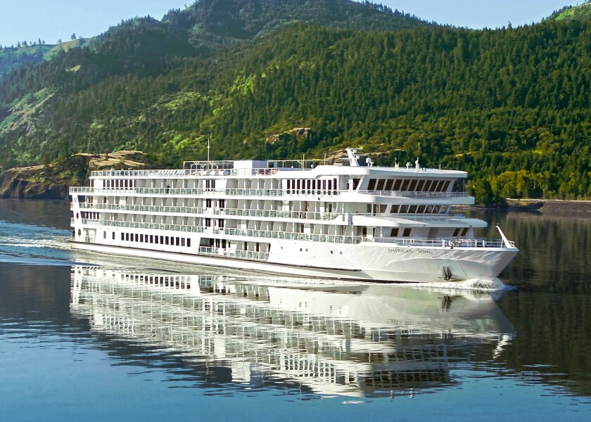 American Cruise Lines' American Song ship