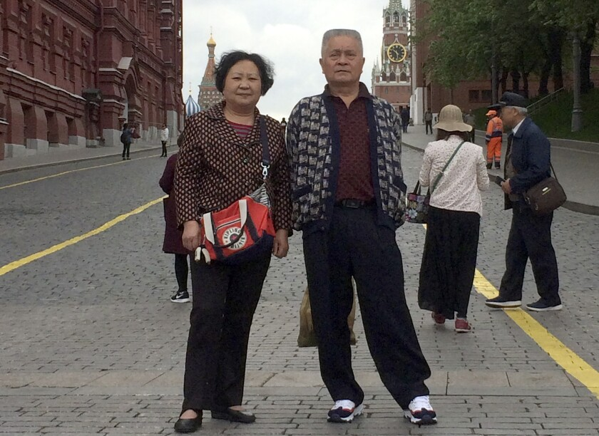 Virus Outbreak China Wuhan Family Patriarch