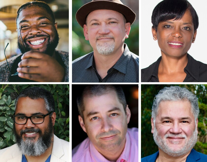 Featured artists at The Old Globe's 2021 Powers New Voices Festival