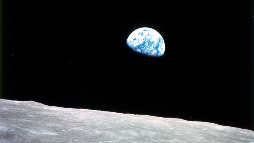 AMERICAN EXPERIENCE – RACE TO THE MOON– PBS/KCET OCT 31, 2005.– Taken by astronaut William Anders fr