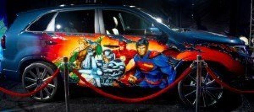 Justice League-inspired Kia Sorrento
