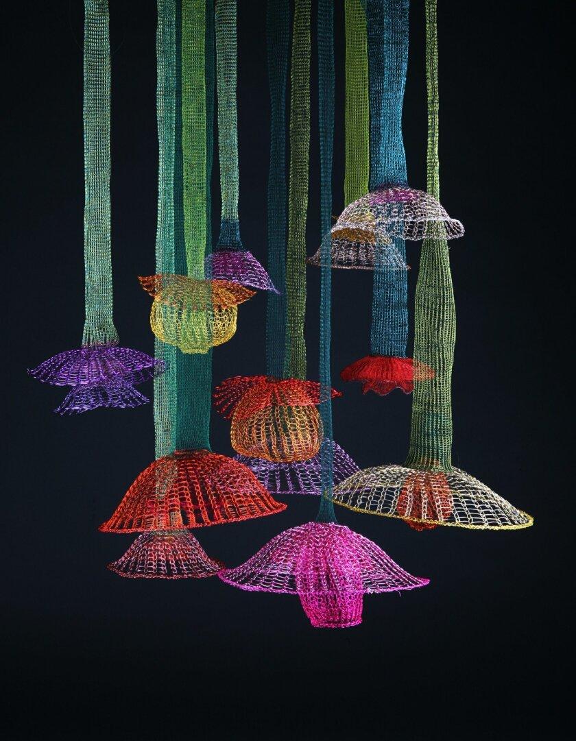 """Arline Fisch: """"Hanging Garden."""" Photo: Will Gullette"""