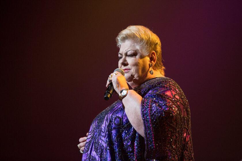 Paquita la del Barrio regresa a nuestra ciudad para ofrecer su concierto de cada año, aunque esta vez contará con varias invitadas especiales por sus 45 años de carrera.