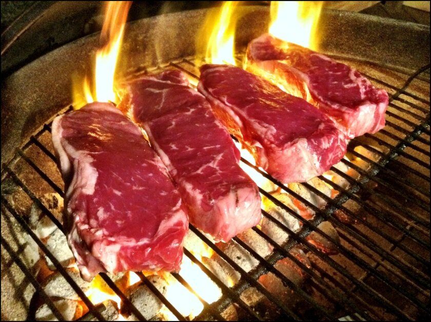 Red meat, a gourmet's delight, and a risk factor for cancer, according for numerous studies.