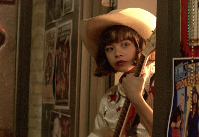 "Eva Noblezada in a scene from the film ""Yellow Rose"""