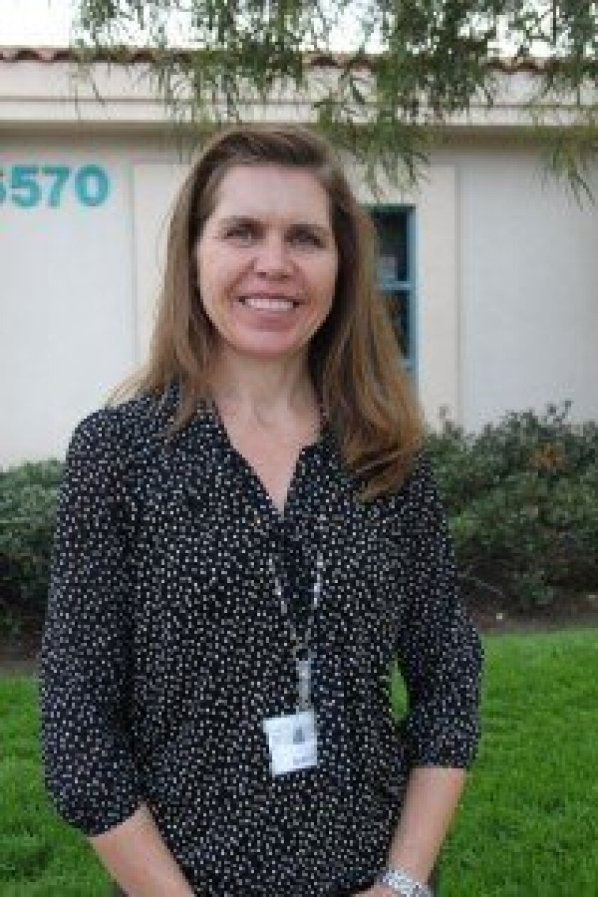 Becky Gauthier is serving as the interim principal of Solana Santa Fe School. Photo/Karen Billing