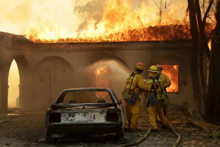 Colby fire, Glendora