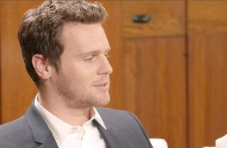 Jonathan Groff sees 'Mindhunter' as a head trip