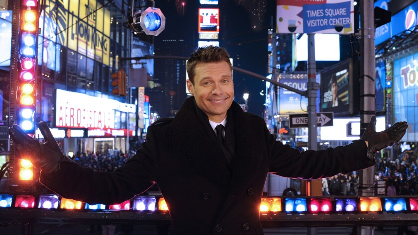 "Ryan Seacrest hosts ""Dick Clark's New Year's Rockin' Eve With Ryan Seacrest 2016"" on ABC."