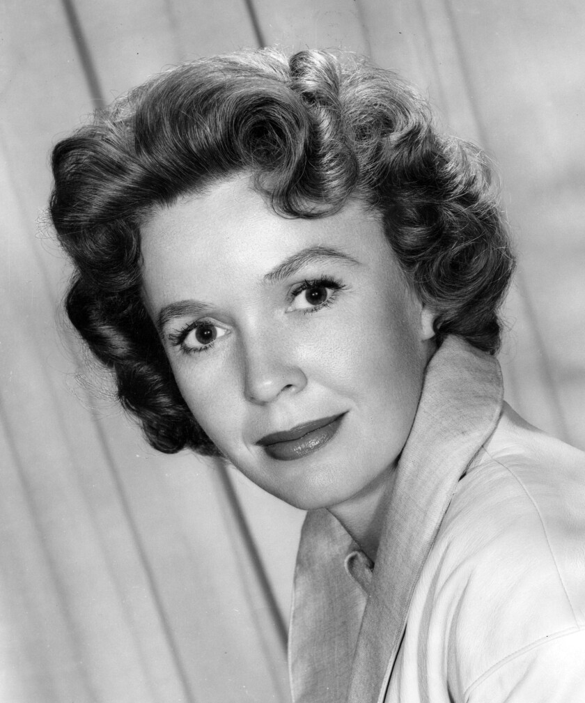 """Mary Anderson, shown in 1957, was discovered by director George Cukor, who was searching for an actress to play Scarlett O'Hara in """"Gone With the Wind."""""""