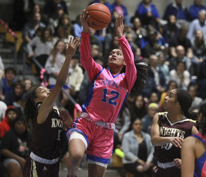 Te-hina Paopao, the state Gatorade Player of the Year, averages 22.5 points a game for LJCD.