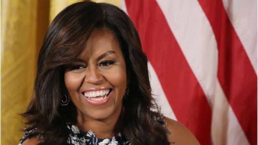 Michelle Obama es la primera mujer afroestadounidense en ser primera dama de Estados Unidos.