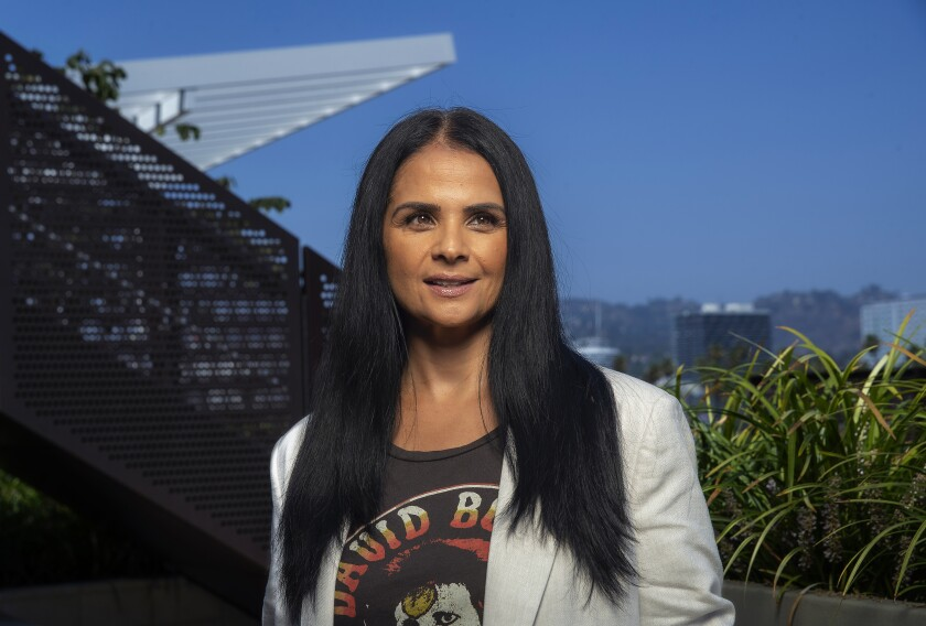 Bela Bajaria, the global head of TV at Netflix.