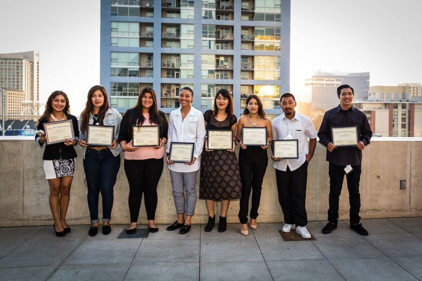 The 2015 Words Alive Westreich Scholarship recipients