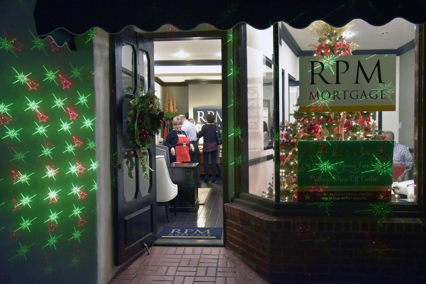 RPM Mortgage at 16921 Via De Santa Fe is the drop off center for the Angel Giving Tree program
