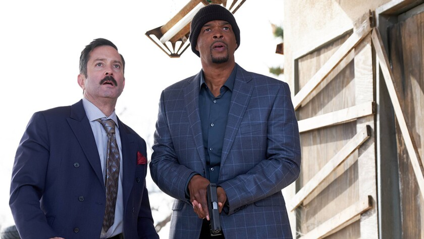 "Thomas Lennon and Damon Wayans in ""Lethal Weapon"" on Fox."