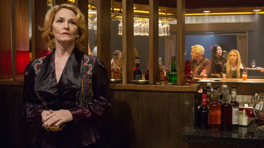 "Melissa Leo plays the proprietor of a Sunset Strip comedy club in Showtime's new series, ""I'm Dying"