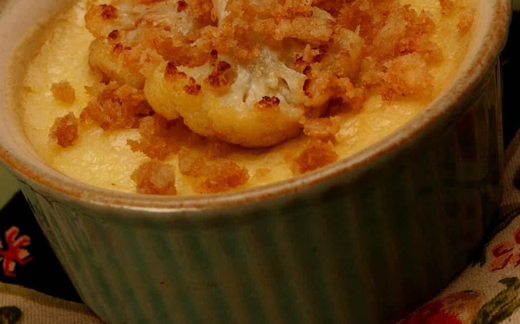 Cauliflower custard