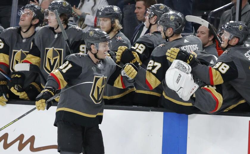Ducks Golden Knights Hockey