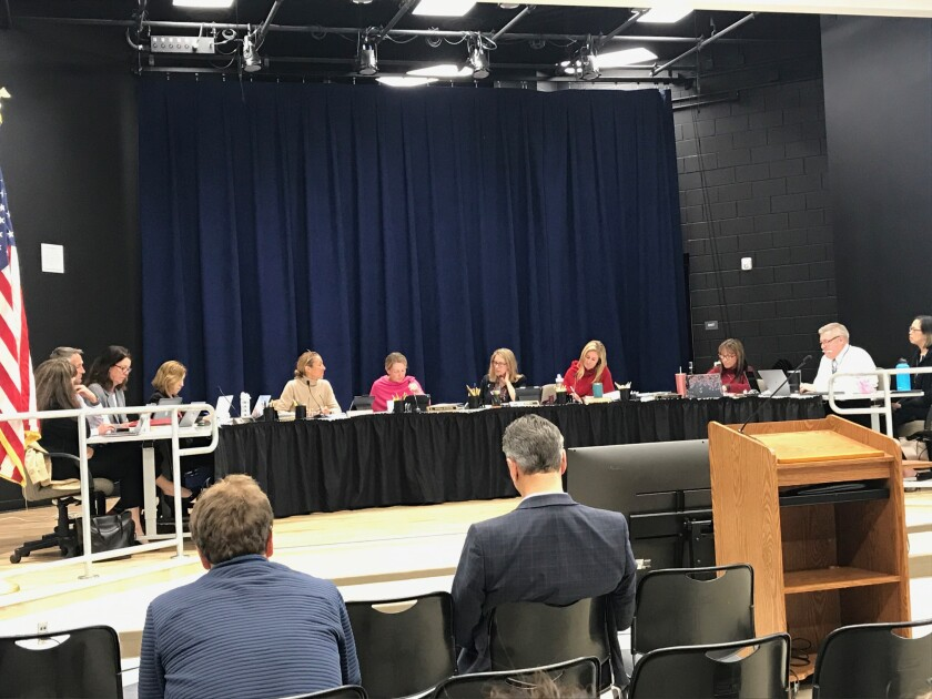 The Solana Beach School board was split on the interim housing decision for the Solana Vista rebuild.