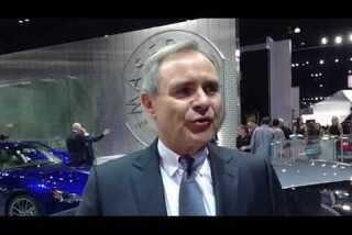 L.A. Auto Show 2014: Maserati CEO Harald Wester on sales strategy