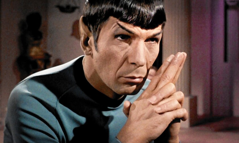 Leonard Nimoy made Spock 'Star Trek's' most complicated, and modern, hero -  Los Angeles Times