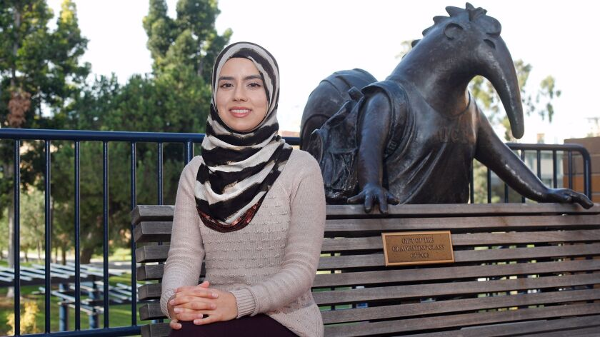UC Irvine senior Iman Siddiqi created the University of California's first student-funded scholarship available to refugees and asylum seekers.