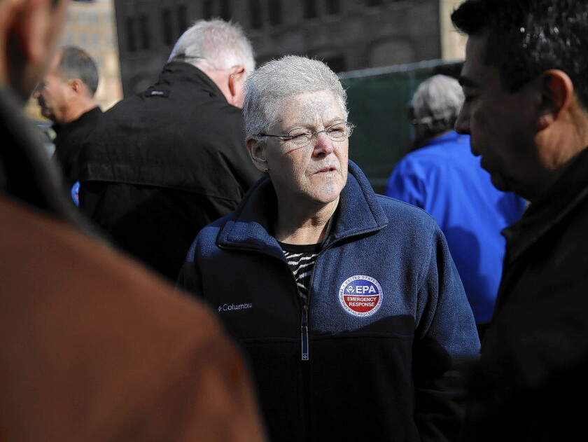 """The health of our rivers, lakes, bays and coastal waters depends on the smaller interconnected streams and wetlands that feed them,"" said EPA Administrator Gina McCarthy, pictured in November, of a newly proposed rule that clarifies which water sources are protected by the Clean Water Act."