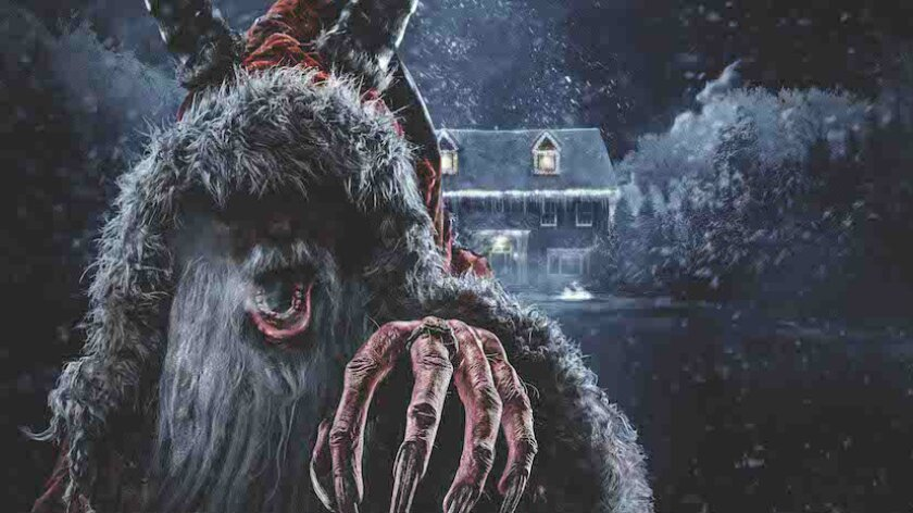 Concept art of the Krampus maze coming to Halloween Horror Nights at Universal Studios Hollywood.