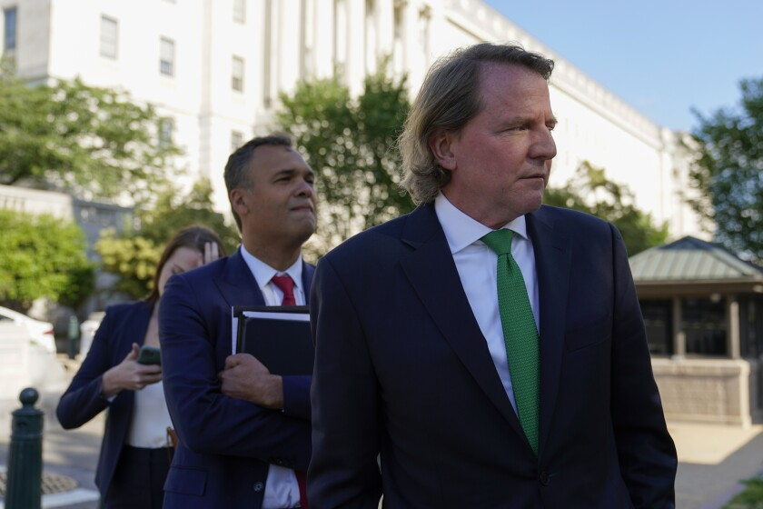 Former White House counsel Don McGahn.
