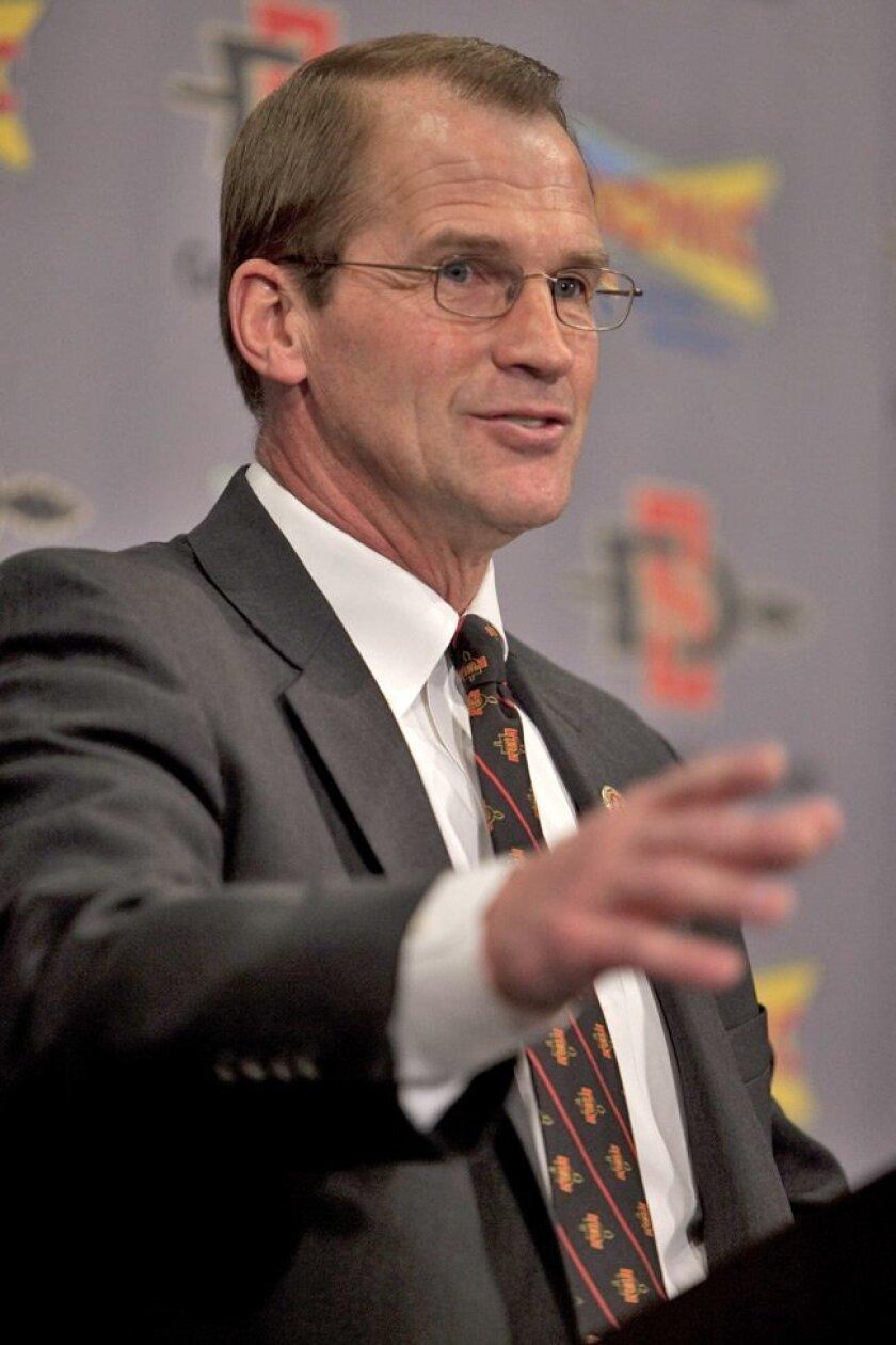 SDSU Athletic Director Jim Sterk.