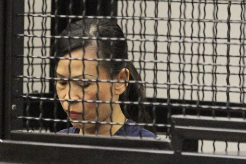 Catherine Kieu was sentenced to seven years to life in prison for cutting off her estranged husband's penis.