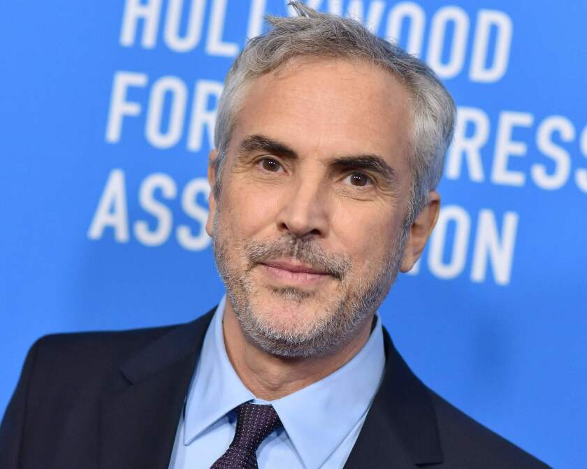 Alfonso Cuaron attends the Hollywood Foreign Press Associations Annual Grants Banquet in Beverly Hills, California, on August 9, 2018.