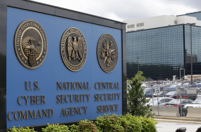 The National Security Agency campus in Fort Meade, Md., in June 2013.
