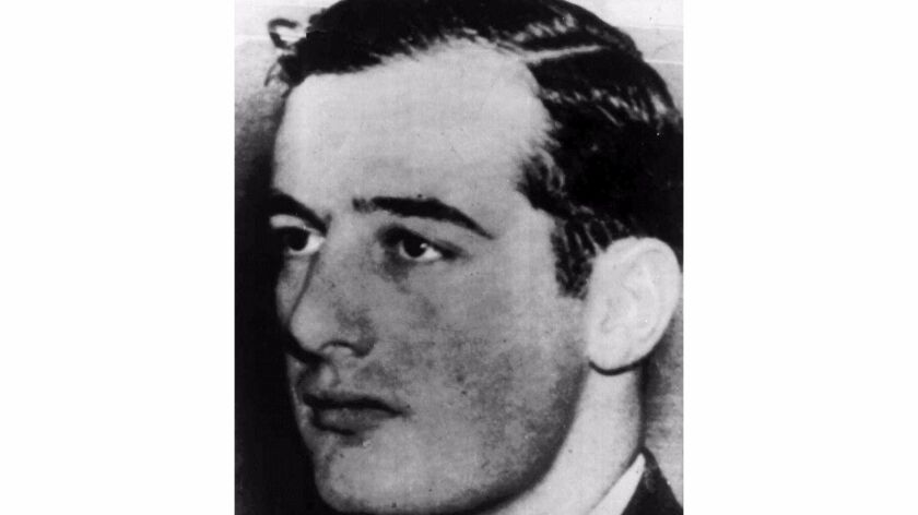 This undated handout photo from Pressens Bild shows Swedish diplomat and World War II hero Raoul Wallenberg.
