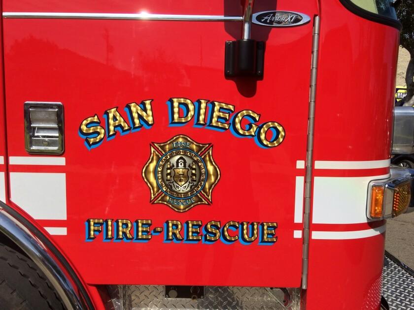 Unidad del Departamento de Bomberos y Rescate de San Diego.
