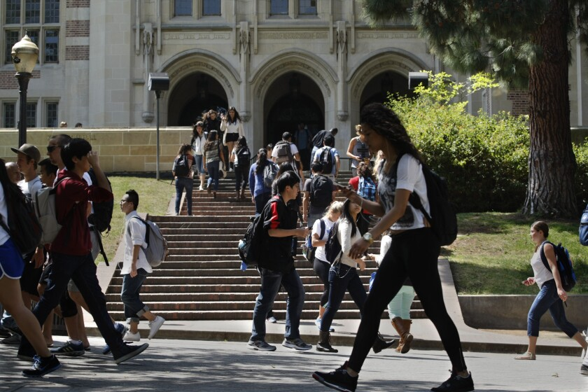 UCLA is expected to get a bit more crowded next year under a plan to increase enrollment of California undergraduates across the UC system by 5,000.