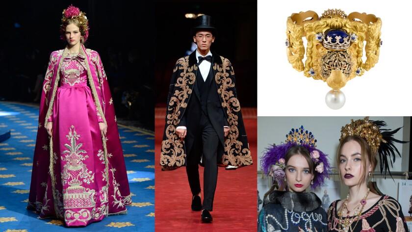 Inside Dolce & Gabbana's lavish celebration of life, love, opera and couture.