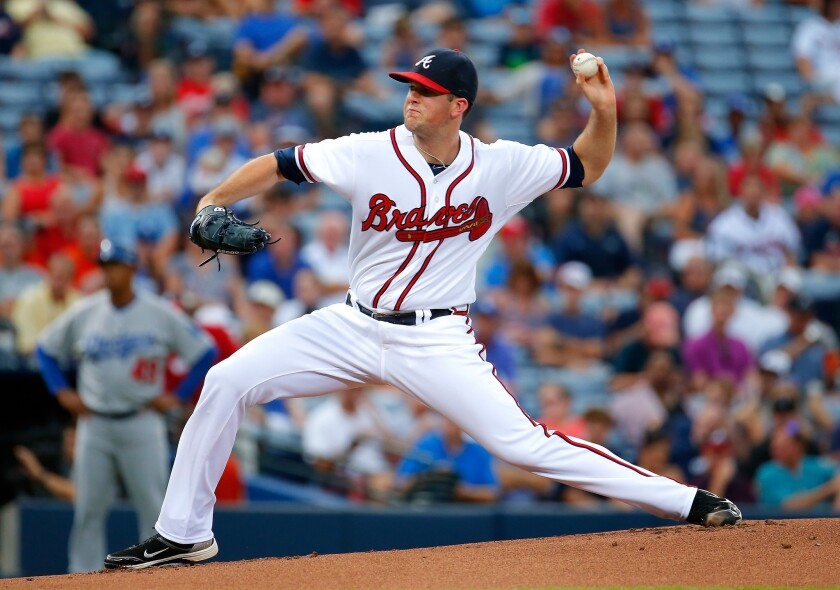 Left-hander Alex Wood will make an immediate impact for the Dodgers' starting pitching depth.