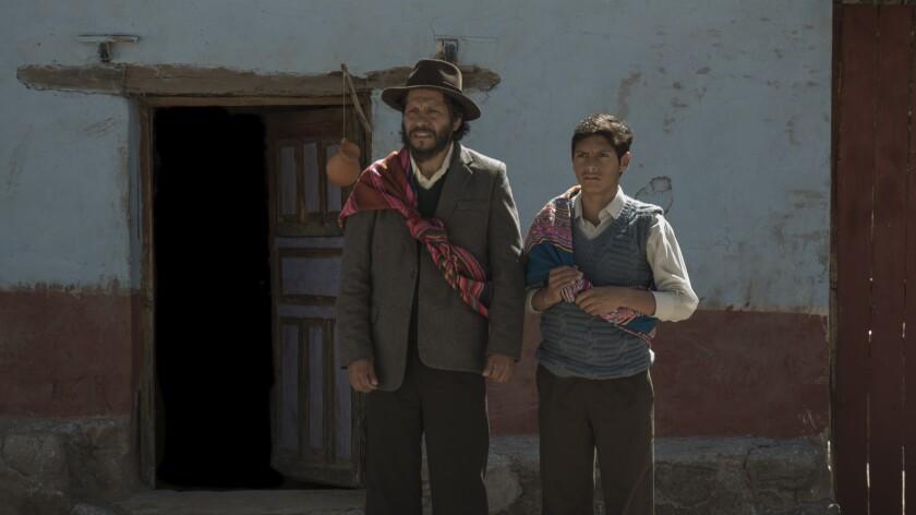 Amiel Cayo and Junior Bejar in the movie 'Retablo'