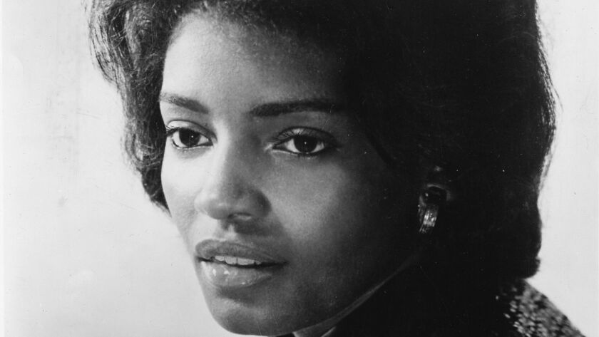 Sylvia Moy, studio portrait, Detroit, USA, 1963. (Photo by Gilles Petard/Redferns)