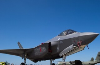 What is the F-35 fighter jet program?