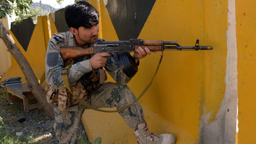 Afghanistan-Pakistan border security