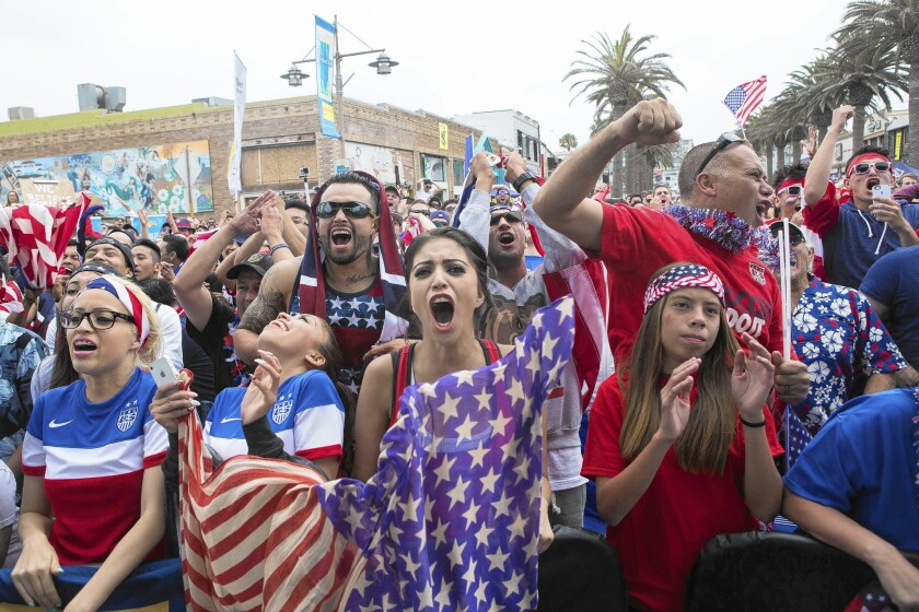 Though young and inexperienced, the U.S. national team has given fans much to celebrate, including their advancement Thursday to the knockout round of 16.