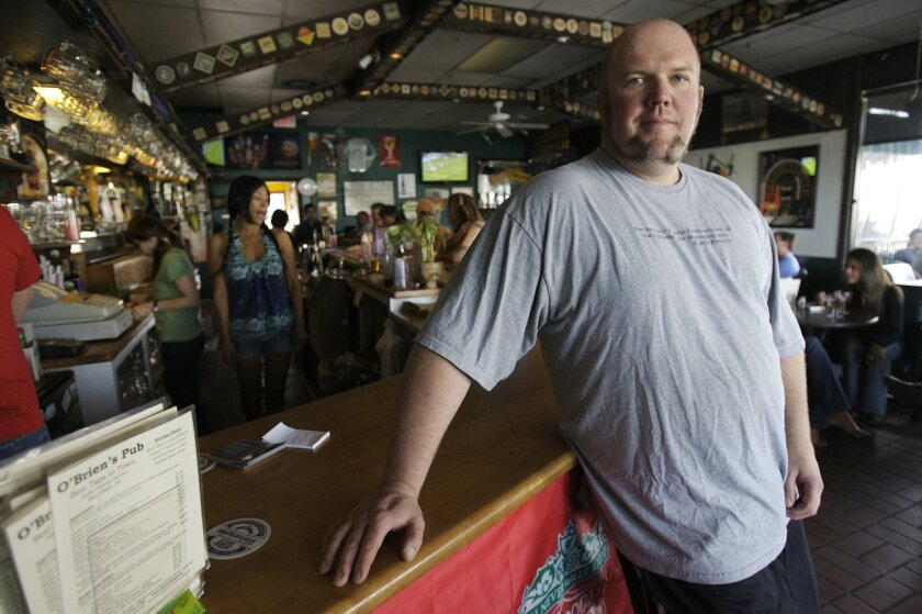 Tom Nickel will be pouring Pliny the Younger at his pub, O'Brien's