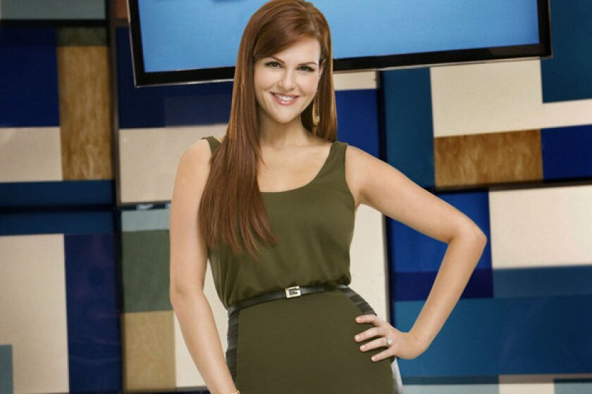 """Sara Rue in a promotional image for """"Shedding for the Wedding,"""" which she hosted. The """"Malibu Country"""" actress recently gave birth to a baby girl."""