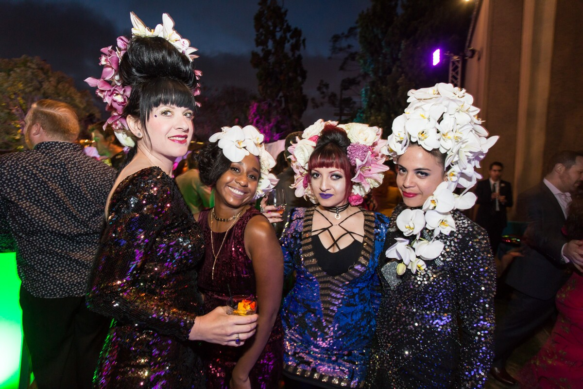 Food, drinks, fashion, music and art were in full bloom at the Bloom Bash at the San Diego Museum of Art in Balboa Park on Friday, April 27, 2018.