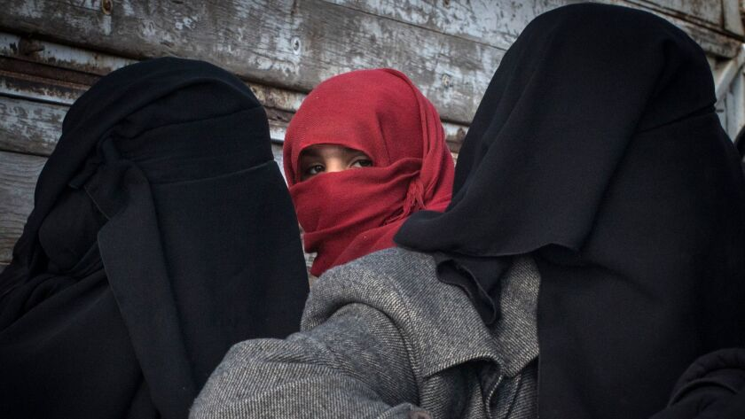 Families and Fighters Flee Last ISIS-Held Village In Syria