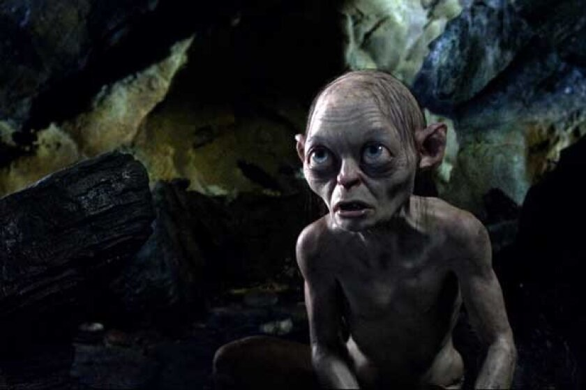 """Andy Serkis """"The Hobbit: An Unexpected Journey"""" on HBO."""